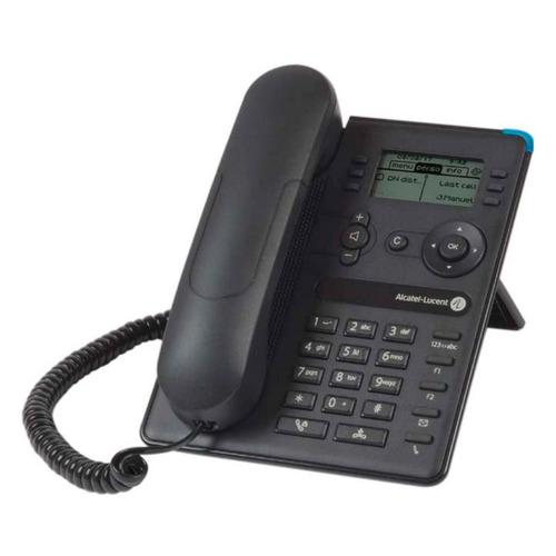 Системный телефон ALCATEL-LUCENT 8008 черный [3mg08010aa]