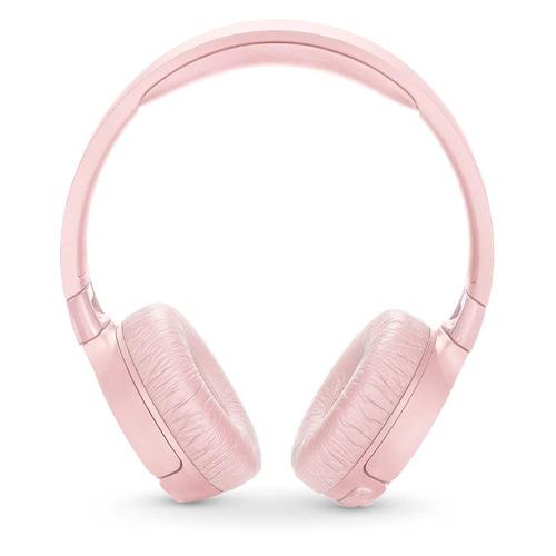 Наушники с микрофоном JBL T600BTNC, Bluetooth, накладные, розовый [jblt600btncpik]