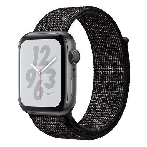 Смарт-часы APPLE Watch Series 4 Nike+, 40мм, темно-серый / черный [mu7g2/a] запчасти apple watch