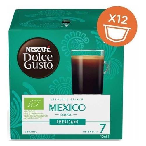 Кофе капсульный DOLCE GUSTO Mexico Americano, капсулы, совместимые с кофемашинами DOLCE GUSTO® [12400570] капсулы caffe tiziano bonini cappuccino compatibile dolce gusto 16шт