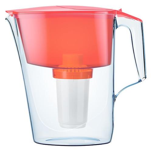 Фильтр для воды АКВАФОР Ультра, коралловый, 2.5л фильтр кувшин для воды аквафор ультра зеленый