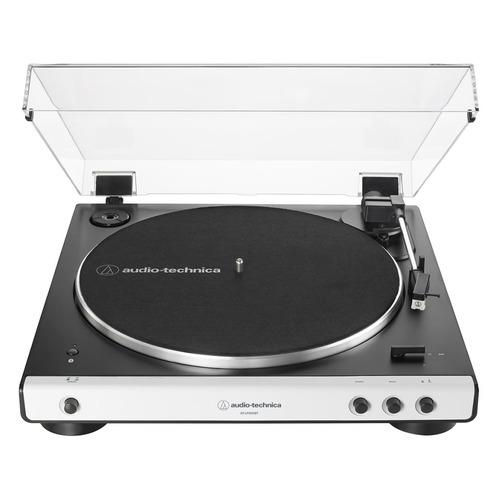 Проигрыватель винила Audio-Tecnica AT-LP60XBT полностью автоматический белый