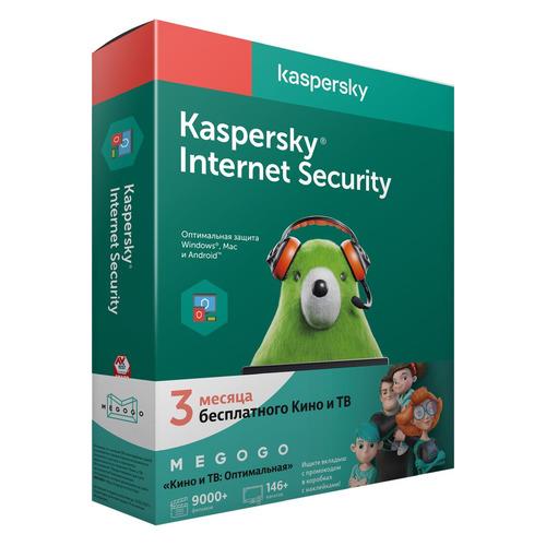ПО Kaspersky Internet Security Multi-Device Ru Ed МЕГОГО 2 устройства 1 год (KL1941RBBFS) kaspersky total security base retail pack multi device 2 устройства 1 год [цифровая версия] цифровая версия