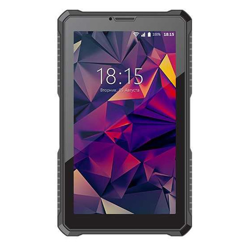 Планшет BQ 7082G Armor print 3, 1GB, 8GB, 3G, Android 7.0 черный [85954702] планшет bq 1081g black spreadtrum sc7731 1 3 ghz 1024mb 8gb 3g wi fi gps cam 10 0 1024x600 android