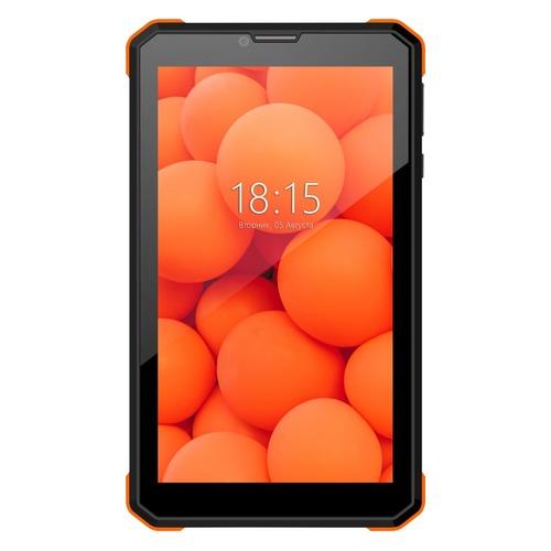 Планшет BQ 7098G Armor Power print 1, 1GB, 8GB, 3G, Android 8.1 черный [86180926] планшет bq 1081g black spreadtrum sc7731 1 3 ghz 1024mb 8gb 3g wi fi gps cam 10 0 1024x600 android