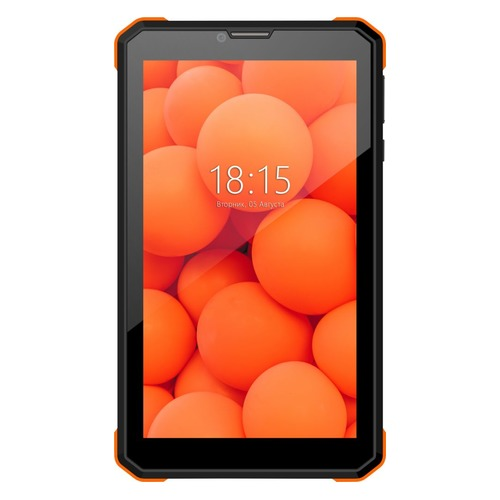 Планшет BQ 7098G Armor Power print 2, 1GB, 8GB, 3G, Android 8.1 черный [86180927] планшет prestigio wize 3161 3g pmt31613gccis mt8321 1 3 1gb 8gb 10 1 ips wxga wi fi bt 3g 0 3 2mpx android 7 0 black