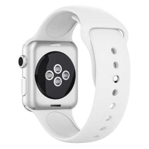 Ремешок DF iClassicband-02 для Apple Watch Series 3/4/5 красный (DF ICLASSICBAND-02 (RED)) DF