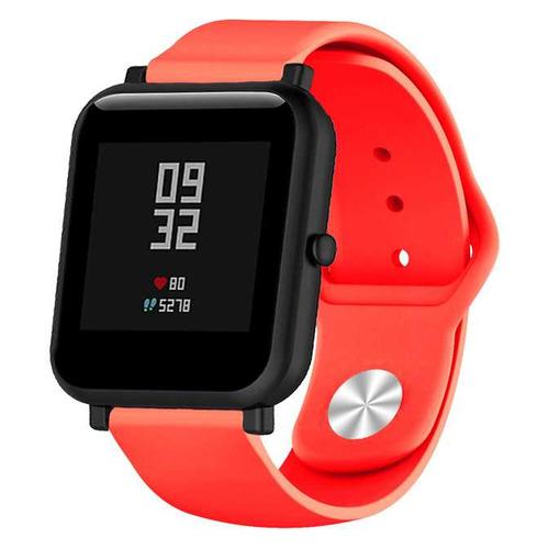 Ремешок DF sSportband-01 для Samsung Galaxy Watch Active/Active2 черный/синий (DF SSPORTBAND-01 (BLA DF