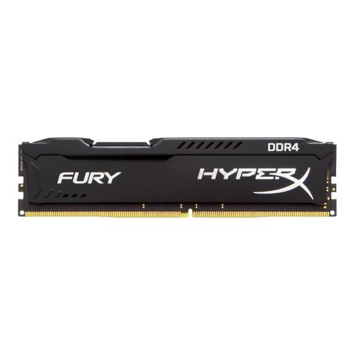 Модуль памяти KINGSTON HyperX FURY Black HX426C16FB3/8 DDR4 - 8Гб 2666, DIMM, Ret KINGSTON