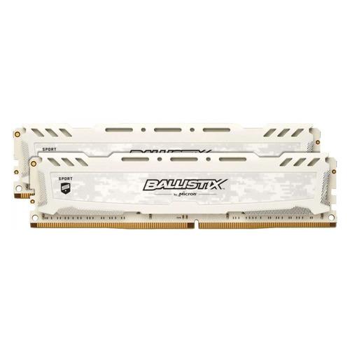 Модуль памяти CRUCIAL Ballistix Sport LT BLS2K8G4D240FSCK DDR4 - 2x 8Гб 2400, DIMM, Ret CRUCIAL