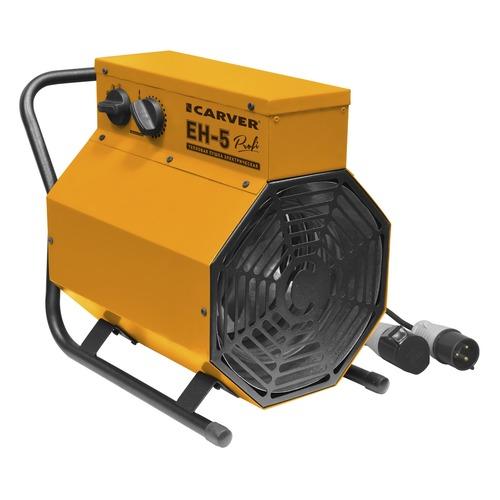 Тепловая пушка электрическая CARVER ЕН-5, 4.5кВт оранжевый [01.005.00006] электрическая тепловая пушка carver ehdk 40w
