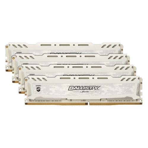 Модуль памяти CRUCIAL Ballistix Sport LT BLS4K16G4D26BFSB DDR4 - 4x 16Гб 2666, DIMM, Ret CRUCIAL