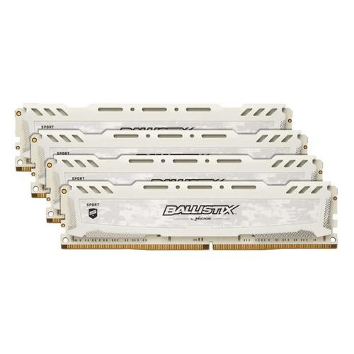 Модуль памяти CRUCIAL Ballistix Sport LT BLS4K16G4D26BFSC DDR4 - 4x 16Гб 2666, DIMM, Ret CRUCIAL