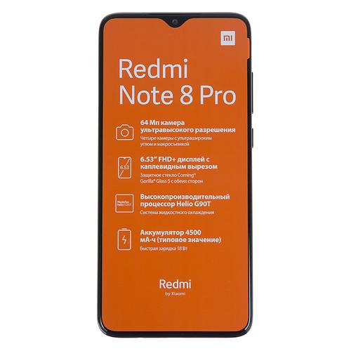 Смартфон XIAOMI Redmi Note 8 Pro 6/128Gb, серый минеральный XIAOMI