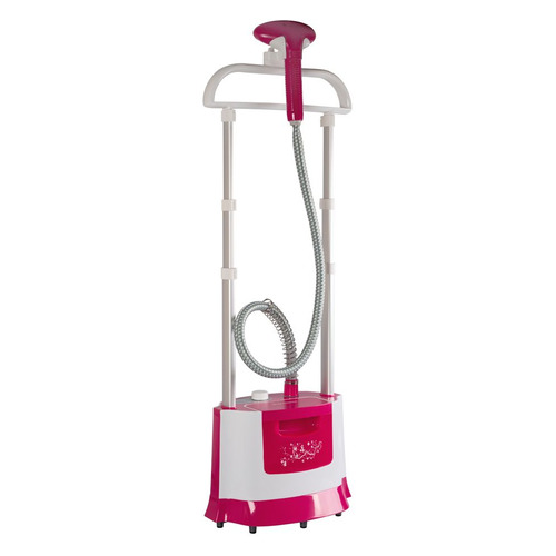 Отпариватель напольный ENDEVER Q-509, белый / розовый [80112] ENDEVER