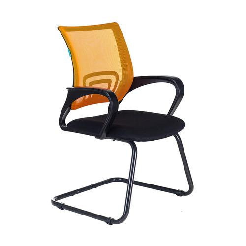 Кресло БЮРОКРАТ CH-695N-AV, на полозьях, ткань, черный [ch-695n-av/or/tw-11] av 130 ch 04 сх mebelvia