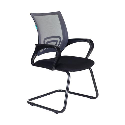 Кресло БЮРОКРАТ CH-695N-AV, на полозьях, ткань, черный [ch-695n-av/dg/tw-11] av 130 ch 04 сх mebelvia