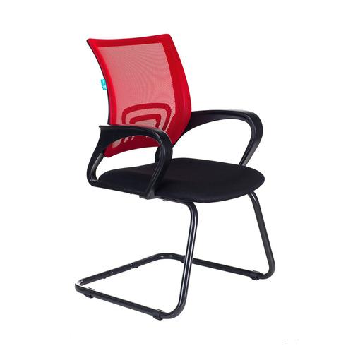 Кресло БЮРОКРАТ CH-695N-AV, на полозьях, ткань, черный [ch-695n-av/r/tw-11] av 130 ch 04 сх mebelvia