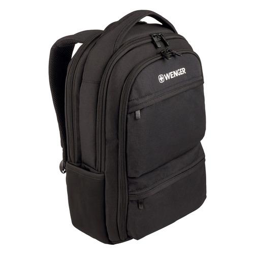 Рюкзак Wenger Fuse черный 600630 32x43x21см 16л. цена и фото