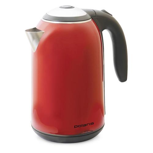 Чайник электрический POLARIS PWK 1766CWr, 1830Вт, красный POLARIS