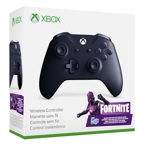 лучшая цена Геймпад Беспроводной MICROSOFT Fortnite особой серии, Bluetooth, для Xbox One, фиолетовый [wl3-00164]