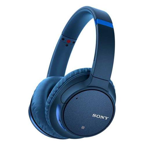 Наушники с микрофоном SONY WH-CH700N, 3.5 мм/Bluetooth, накладные, синий [whch700nl.e]