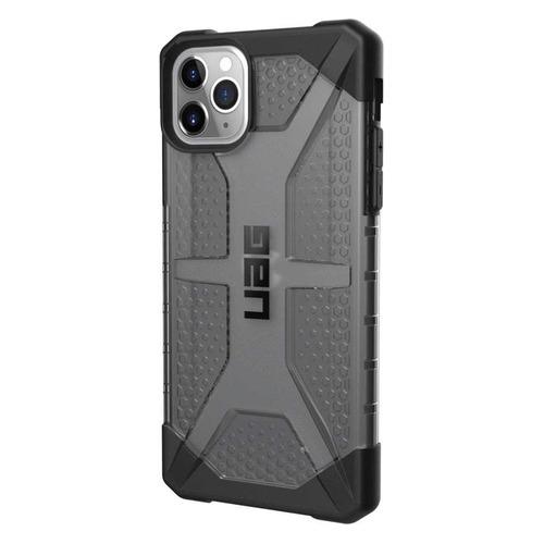 цена на Чехол (клип-кейс) UAG Plasma, для Apple iPhone 11 Pro Max, темно-серый [111723113131]