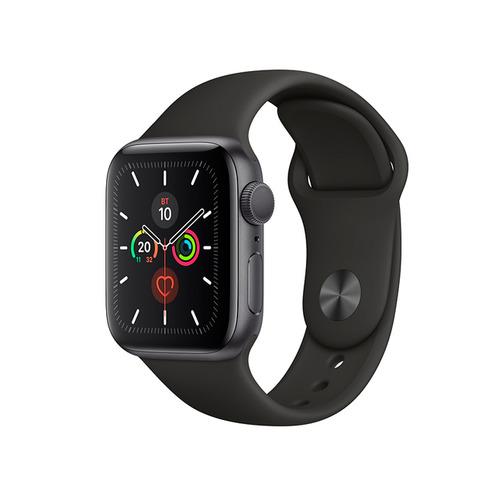 Смарт-часы APPLE Watch Series 5 44мм, темно-серый / черный [mwvf2/a] APPLE