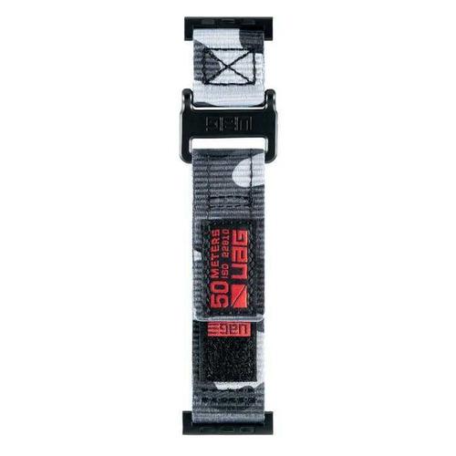 Ремешок UAG Актив 19148A114061 для Apple Watch Series 3/4/5 черный камуфляж