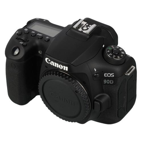 Зеркальный фотоаппарат CANON EOS 90D body, черный