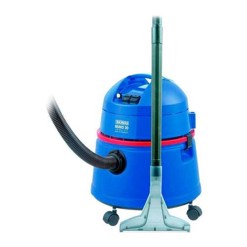 купить Моющий пылесос THOMAS Bravo 20, 1400Вт, синий/красный дешево