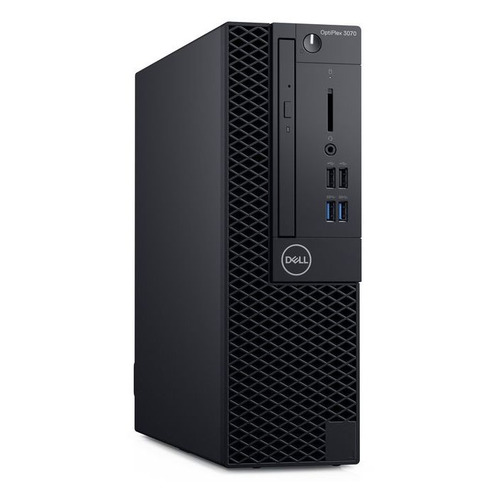 Компьютер DELL Optiplex 3070, Intel Core i5 9500, DDR4 8ГБ, 256ГБ(SSD), Intel UHD Graphics 630, DVD-RW, Windows 10 Professional, черный [3070-4708] компьютер