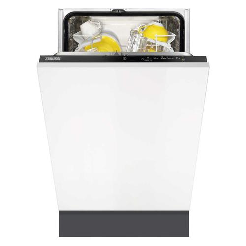 Посудомоечная машина узкая ZANUSSI ZDV91204FA, белый посудомоечная машина zanussi zdt92400fa