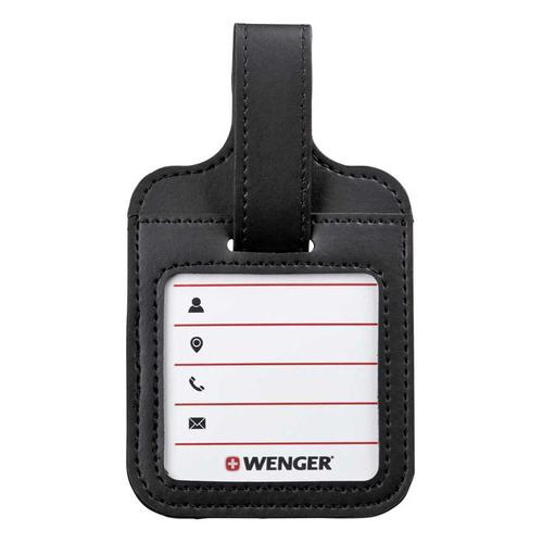 Ремень багажный для путешествий Wenger 50x1015мм полиэстер черный/красный WENGER