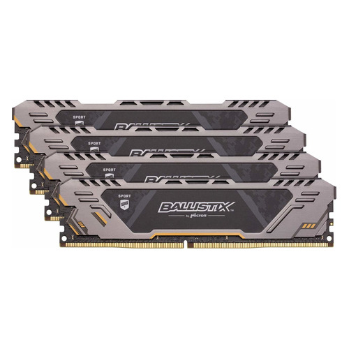 Модуль памяти CRUCIAL Ballistix Sport LT BLS4K4G4D240FSC DDR4 - 4x 4Гб 2400, DIMM, Ret CRUCIAL