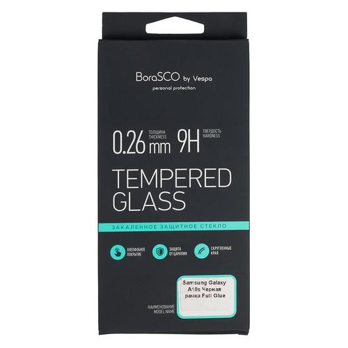 Защитное стекло для экрана DF hwColor-107 для Huawei Mate 30, прозрачная, 1 шт, черный [df hwcolor-107 (black)] DF