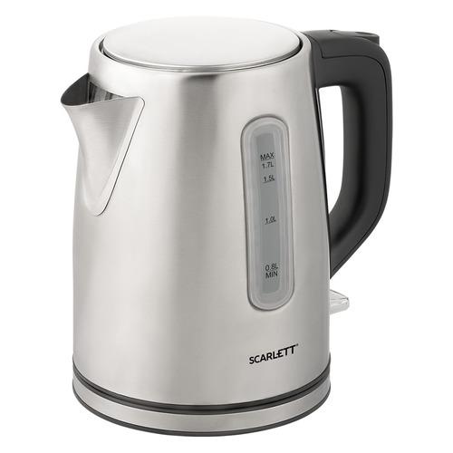 Чайник электрический SCARLETT SC-EK21S91, 2200Вт, нержавеющая сталь стоимость