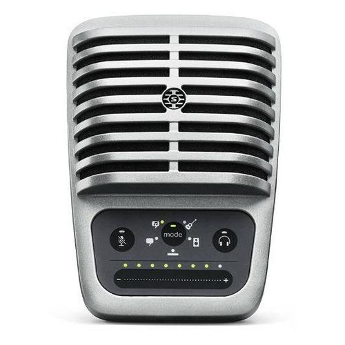 Микрофон SHURE Motiv MV51/A, черный/серебристый