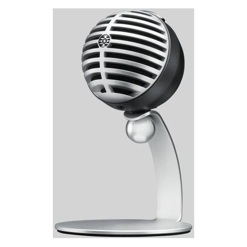 Микрофон Shure Motiv MV5/A, черный/серебристый NONAME