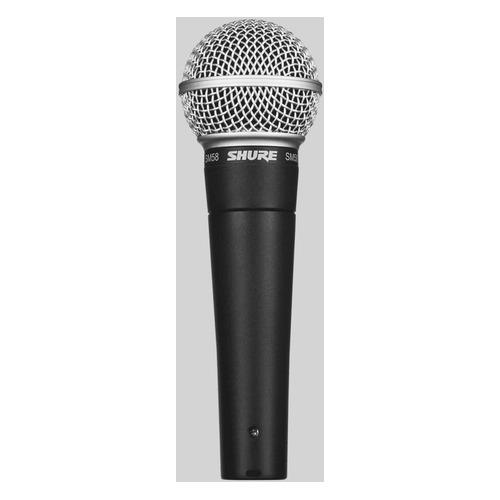 Микрофон SHURE SM58-LCE, черный/серебристый shure fp25 sm58 l4e 638 662 mhz