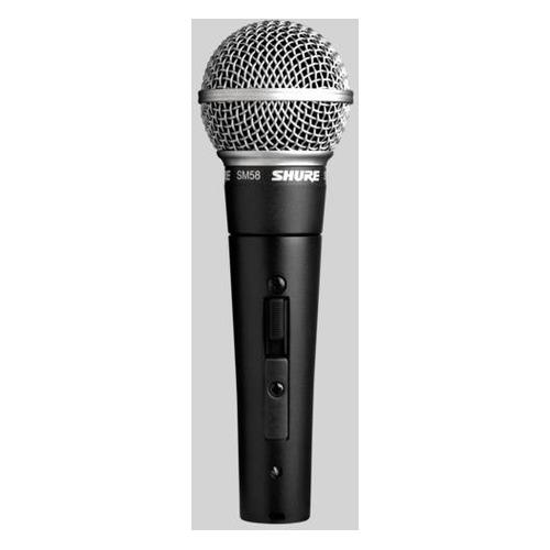 Микрофон Shure PGA58-QTR-E, черный NONAME