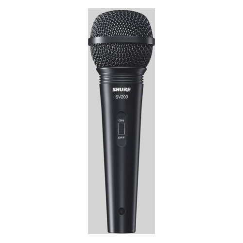 Микрофон Shure Motiv MVL, черный [mvl/a] NONAME