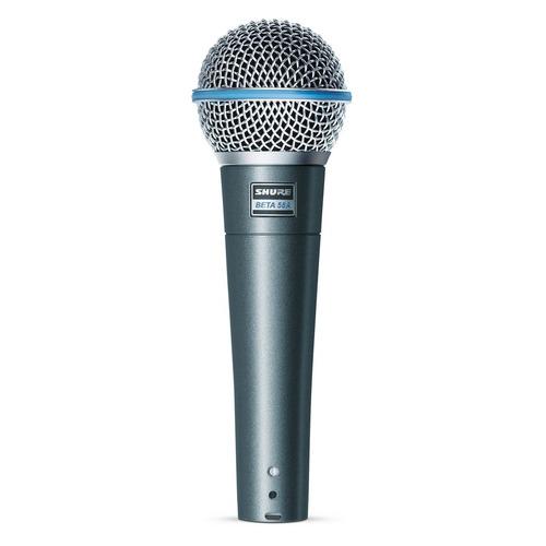 Микрофон SHURE Beta 58A, серебристый инструментальный микрофон shure beta 98a c