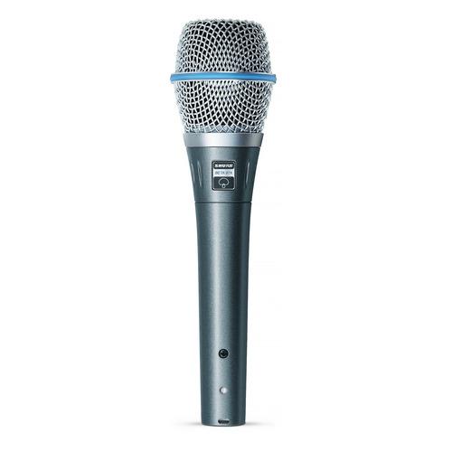 Микрофон SHURE Beta 87A, серебристый [beta87a] инструментальный микрофон shure beta 98a c