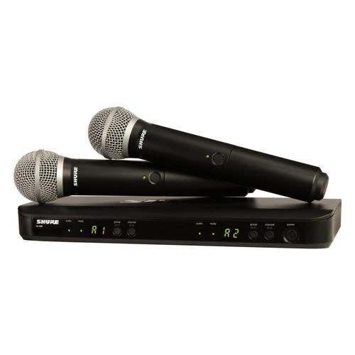 купить Радиосистема Shure BLX288E/PG58-M17 беспровод. черный онлайн