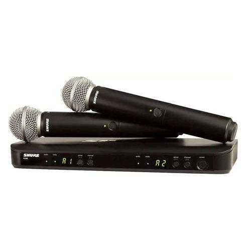 лучшая цена Радиосистема Shure BLX288E/SM58-M17 беспровод. черный