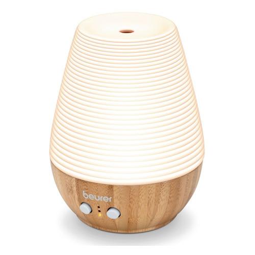 Аромадиффузор электрический Beurer LA40 12Вт бамбук/фарфор коричневый BEURER