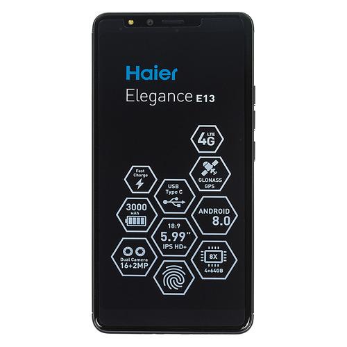 Смартфон HAIER Elegance E13 64Gb, серый стоимость