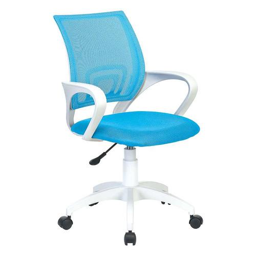 Кресло БЮРОКРАТ CH W696, на колесиках, сетка/ткань, голубой [ch w696 lb] кресло офисное персона persona доступные цвета обивки искусств чёрная кожа