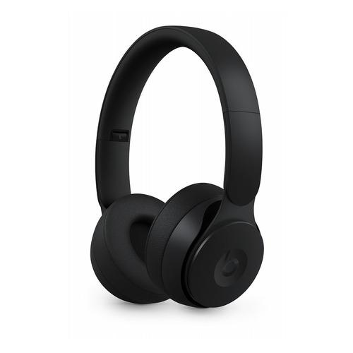Наушники с микрофоном BEATS Solo Pro Wireless Noise Cancelling, Bluetooth, накладные, черный [mrj62ee/a]